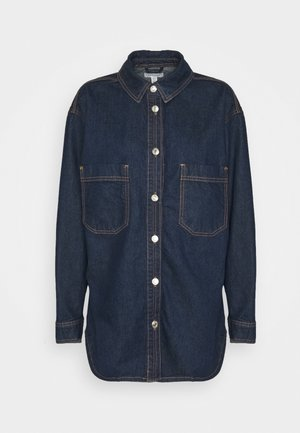 OVERSHIRT - Button-down blouse - indigo