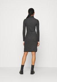 Even&Odd - Shift dress - mottled anthracite - 2