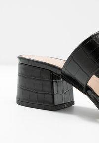Glamorous Wide Fit - Slip-ins med klack - black - 2