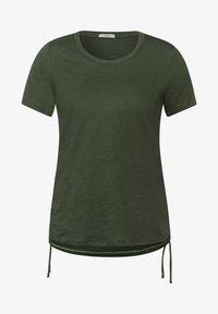 Cecil - Basic T-shirt - olive - 3