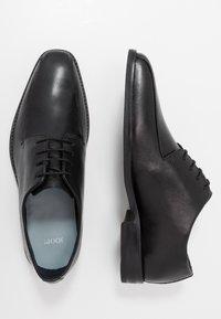 JOOP! - PHILEMON PISTA LACE UP  - Elegantní šněrovací boty - black - 1