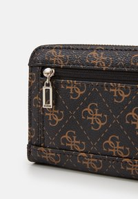 Guess - AMBROSE SLG LARGE ZIP AROUND - Portefeuille - blue lion - 3