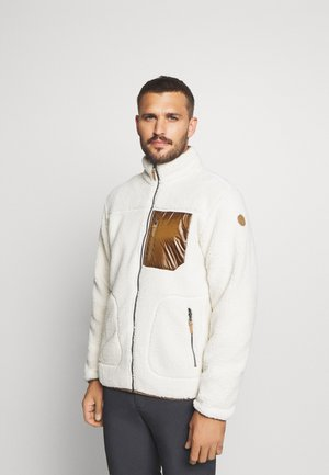 AMHERST - Fleecejacke - natural white