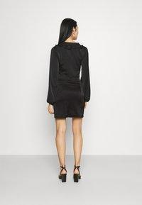 Missguided - SKIRT  - Mini skirt - black - 2