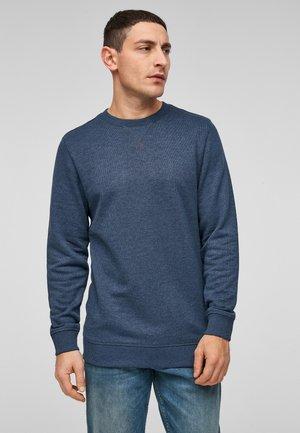 IM MELANGE-LOOK - Sweatshirt - blue melange