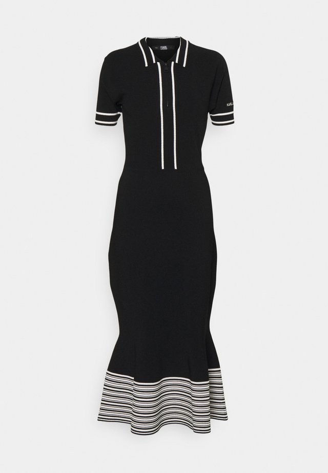 FLAIR DRESS - Robe pull - black
