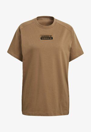 T-shirts med print - brown
