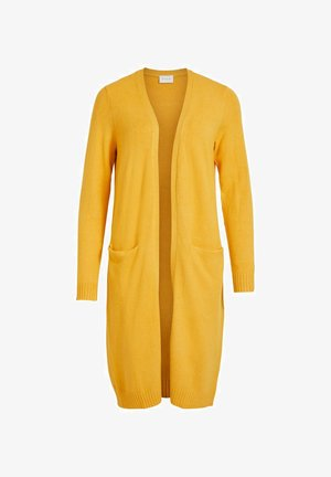 VIRIL LONG CARDIGAN - Cardigan - mineral yellow