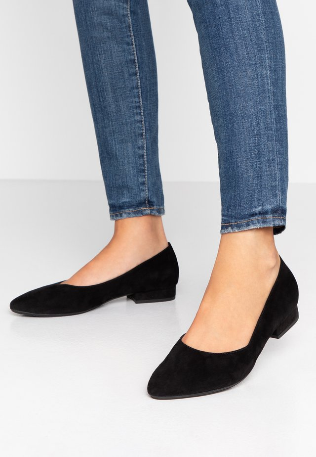 WIDE FIT FALA - Ballet pumps - schwarz