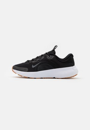 REACT ESCAPE RN - Neutral running shoes - black/dark smoke grey/white/praline