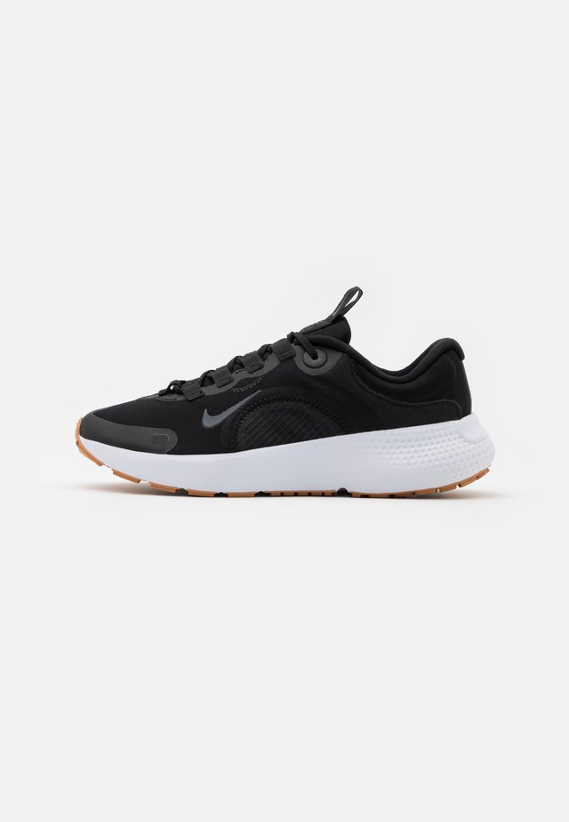 ESCAPE RUN - Obuwie do biegania treningowe - black/dark smoke grey/white/praline