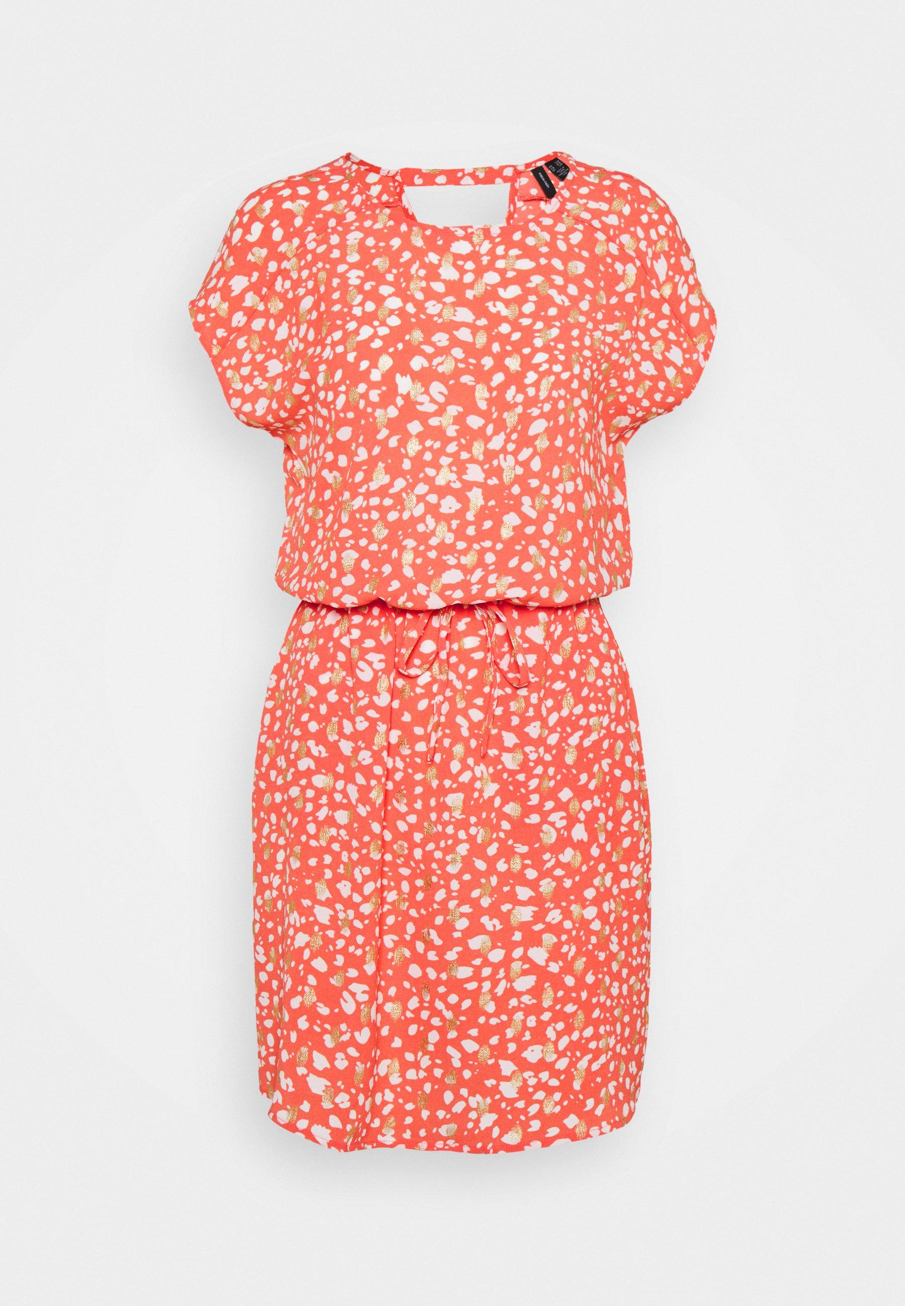 Women VMSINAMON SHORT DRESS  - Day dress