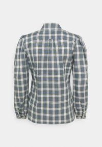 Alexa Chung - CLASSIC SLIM FIT SHIRT - Bluse - washed green/pale blue - 7
