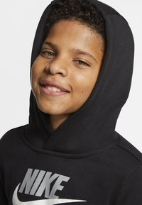 Nike Sportswear - CLUB - Hoodie - black/light smoke grey