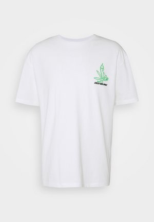 UNISEX GRASS - Print T-shirt - white