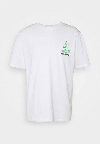 UNISEX GRASS - Print T-shirt - white