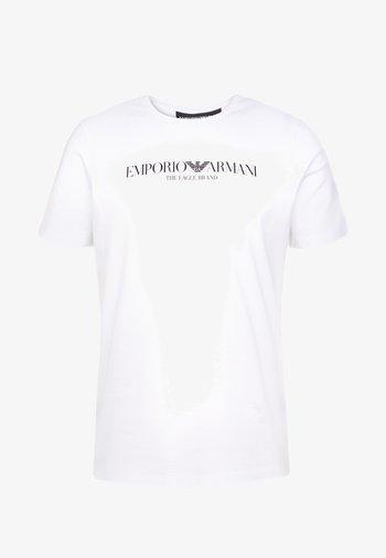 EAGLE BRAND - Print T-shirt - bianco ottico