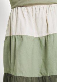 b.young - BXJONA SKIRT - A-line skirt - seagrass mix - 4