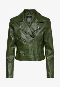ONLENYA  - Faux leather jacket - rifle green