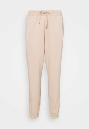 ELASTICATED RELAXED JOGGER - Tracksuit bottoms - soft tan