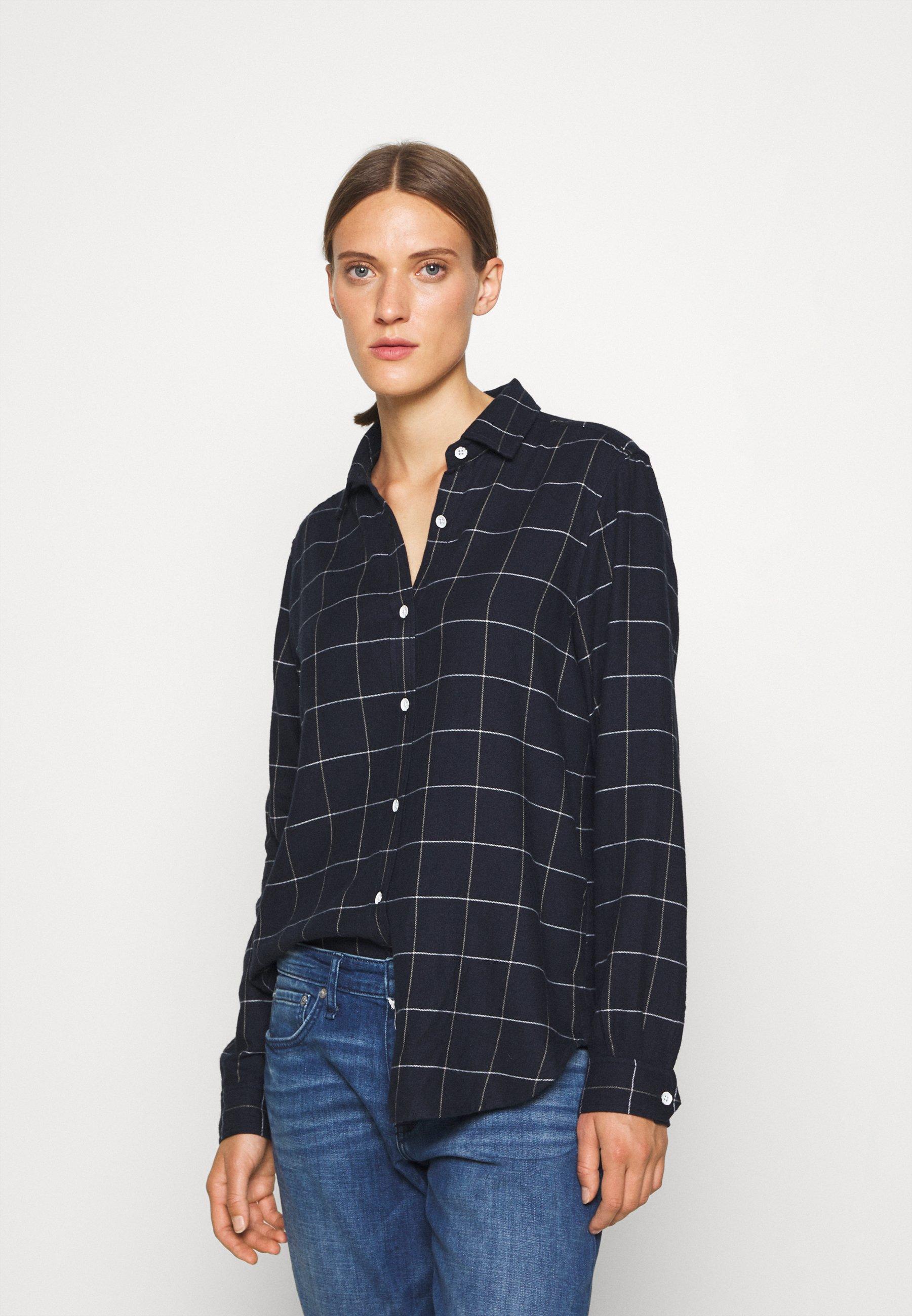 Women QUINN PLAID - Button-down blouse