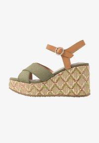 mtng - Sandály na vysokém podpatku - sandys natural/verde claro - 1