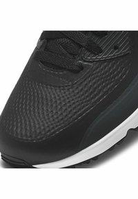 Nike Golf - AIR MAX 90 G - Golfskor - black/white-anthracite-cool grey - 6