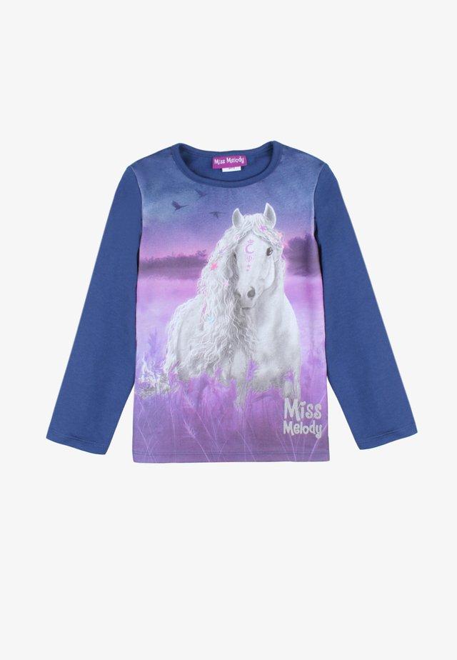 MISS MELODY - Sweatshirt - twilight blue