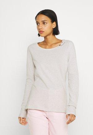 FLORAH LONG  - T-shirt à manches longues - beige