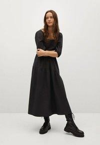Mango - CRETA-L - Day dress - zwart - 0
