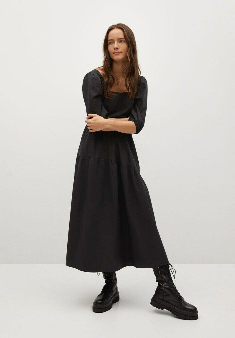 Mango - CRETA-L - Day dress - zwart