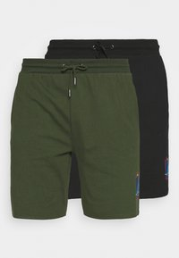 BOAT 2 PACK - Shorts - navy/off white