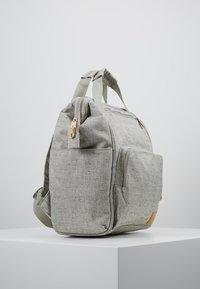 Lässig - GREEN LABEL BACKPACK - Baby changing bag - light grey/beige - 3