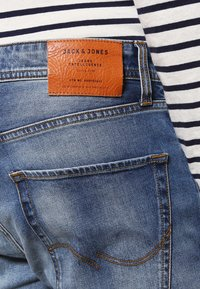 Jack & Jones - JJIMIKE JJORIGINAL  - Jean droit - blue denim