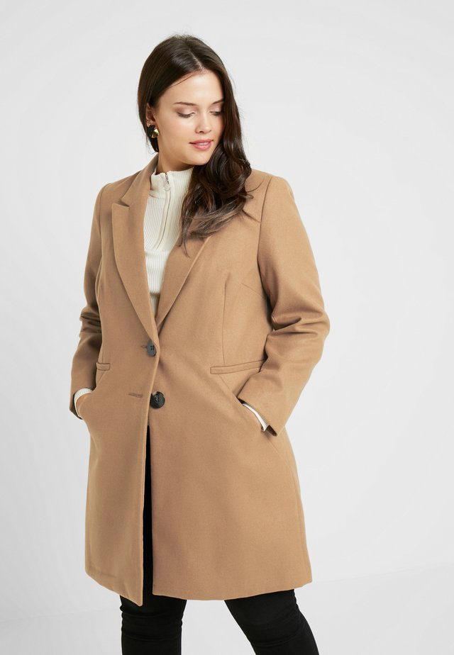 SINGLE BREAST COAT - Short coat - camel