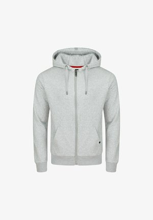 RIVNILS - Zip-up hoodie - grey melange standard