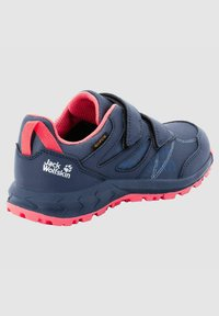 Jack Wolfskin - Walking shoes - dark blue / rose - 5