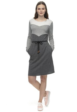 TERGA  - Jersey dress - grey