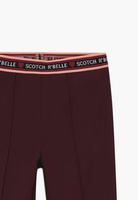 Scotch & Soda - FLARE - Leggings - Trousers - plum - 3