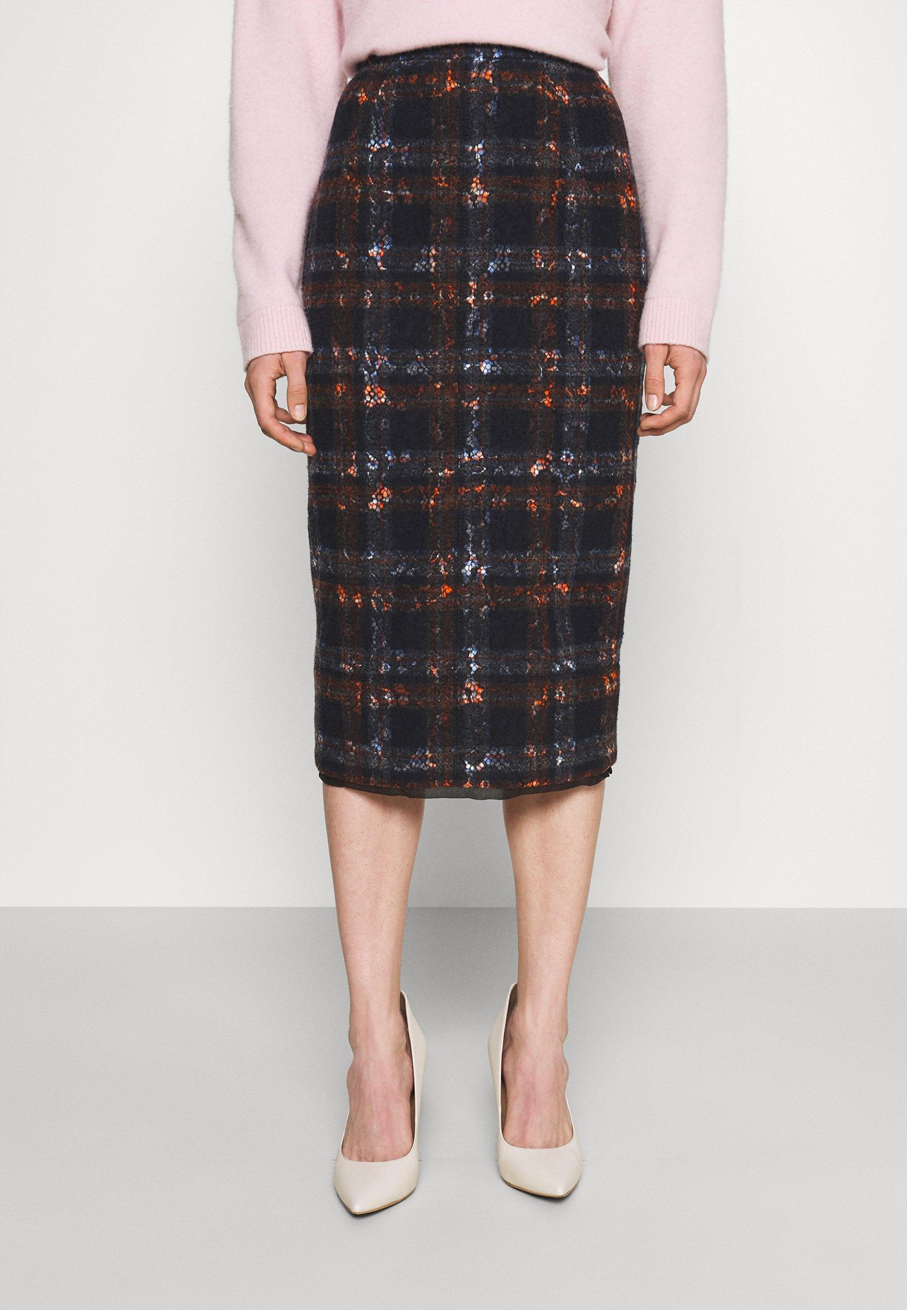 Women GONNA TESSUTO - Pencil skirt