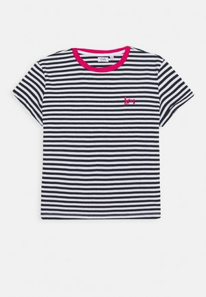 STRIPED  - T-shirt imprimé - night sky