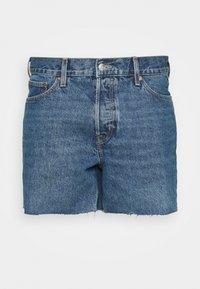 DRAUGHT - Denim shorts - harper blue