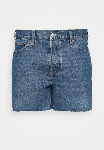 DRAUGHT - Jeans Short / cowboy shorts - harper blue