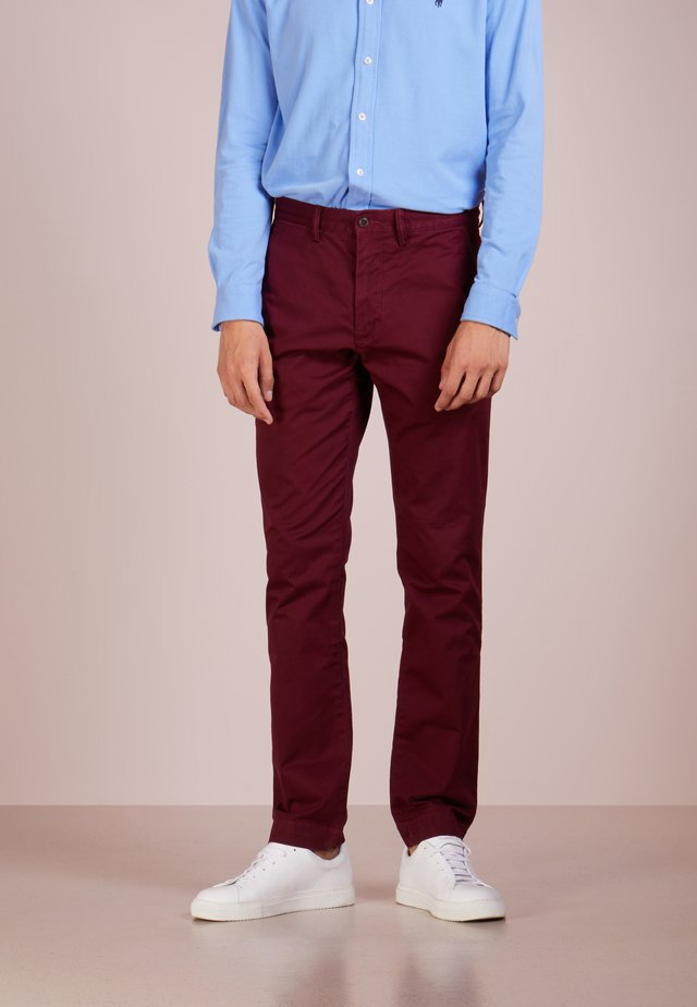 SLIM FIT BEDFORD PANT - Chino - classic wine