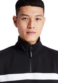 Timberland - CUT AND SEW FUNNEL NECK - Bluza - black - 4