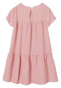 Vertbaudet - Day dress - red/white - 1