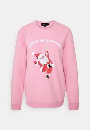 NORTH POLE DANCER CHRISTMAS - Sweatshirt - pink