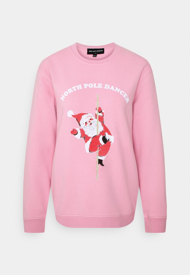 NORTH POLE DANCER CHRISTMAS - Bluza - pink