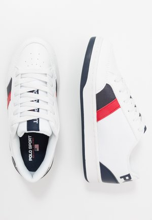 BELDEN - Trainers - white/navy/red