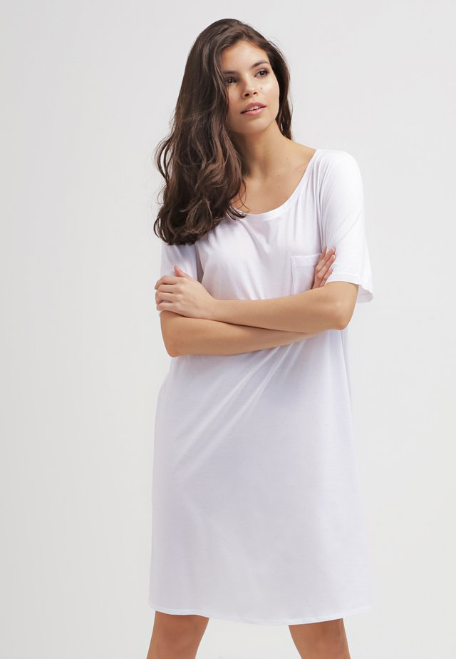 COTTON DELUXE - Nightie - white